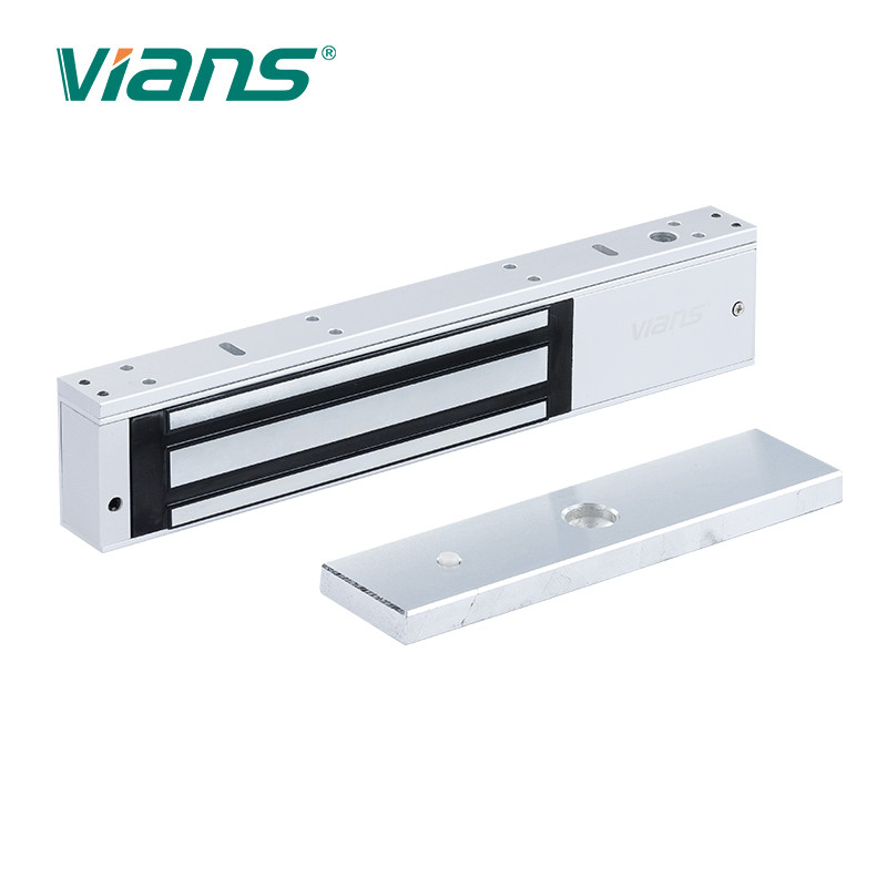 12v 24v 800lbs Sliding Door Fail Secure Magnetic Lock Electroplated Zinc Finish